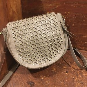 New Anthropologie Antik Leather Studded Bag